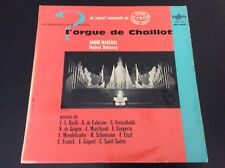 Vinyle 33 tours L orgue de chaillot J.S.BACH