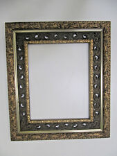 Antique Gold Gesso and Wood 16 x 20 Picture Frame