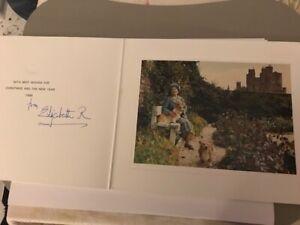 Queen Elizabeth / Queen Mother + Original signiert