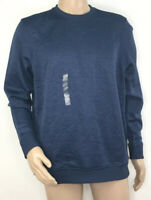 Under Armour Mens Storm Sweater Loose Fleece Crew Size Small Navy NEW $70