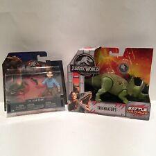 ERROR Mattel Jurassic World Park Legacy Alan Grant wrong arm & Triceratops Horns