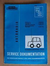 Reparatur Philips Autoradio Tournee Traveller S UKW-Mini Cassetten Schaltplan