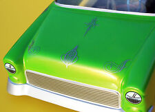 RC CUSTOM PINSTRIPES SILVER stickers decals RC 'Lowriders' Hoppers drift