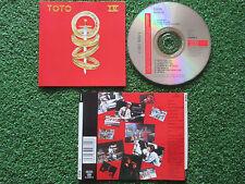 TOTO **IV - Los Discos De Tu Vida* DELETED 2004 Issue SPAIN CD DIFF BACK INLAY