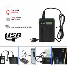 USB Battery Charger for Canon NB-10L NB10L PowerShot G15 G1X SX50 HS SX40 HS