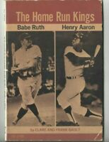 1974 Paperback Book The Home Run Kings Hank Aaron, Babe Ruth New York Yankees