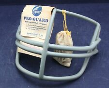 New listing NOS 1980s Schutt  NJOP Red Dot Football Helmet Facemask with Clips > Grey