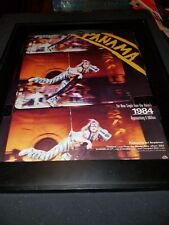 Van Halen Panama Rare Original Promo Poster Ad Framed!