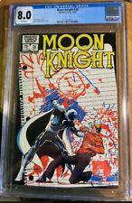 Moon Knight #26 CGC 8.0 VF 1982 Marvel: Sienkiewicz Art/ Cover