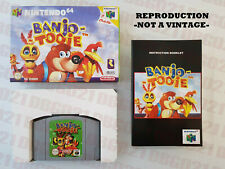 BANJO TOOIE PAL EUR NINTENDO 64 GAME COMPLETE BOX MANUAL PROTECTOR CASE