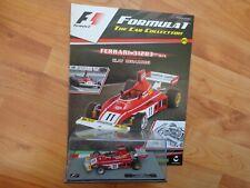 1/43 F1 FORMULA 1 CAR COLLECTION FERRARI 312 B3 - CLAY REGAZZONI 1975 + MAG #25
