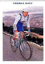 CYCLISME carte cycliste THOMAS DAVY équipe CASTORAMA