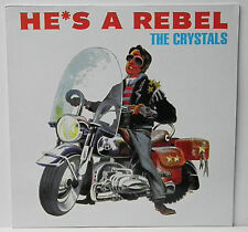 "THE CRYSTALS~ ""HE'S A REBEL""~ RARE U.K. Pressing""NEAR MINT"" FREE S/H~LP!!!"