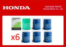 Jdm hampshire filtre à huile honda ef eg ek EP3 DC2 DC5 B16A B18C K20A x6 qté