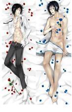 Boys' Love Anime Black Butler Sebastian Michaelis Hugging Body Pillow Case Cover