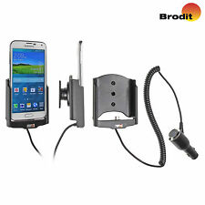 Brodit Samsung Galaxy S5 Active Holder with charger & Tilt Swivel Mount 512623