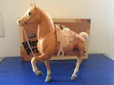 Breyer Collectable Model Horses Palomino Western Prancer w/saddle NIB