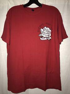Pierce The Veil Shirt (rose graphic, size L)