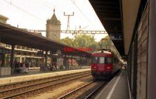 PHOTO  SWITZERLAND SCHAFFHAUSEN SBB EMU 540 044
