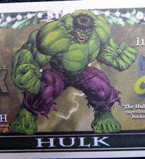 Incredible Hulk FREE SHIPPING! Million-dollar novelty bill