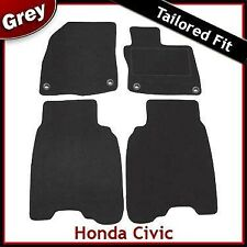 Honda Civic 3/5 Door Tailored Carpet Car Mats GREY (2008 2009 2010 2011 2012)