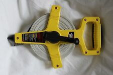 Empire 100' Fiberglass Measuring Tape 6799 Inch and Engineers Scale pre owned