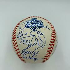 1996 Atlanta Braves Team Signed Playoffs Baseball Chipper Jones John Smoltz