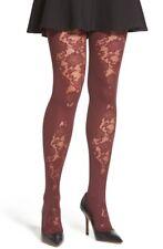 Oroblu 162478 Women's Bordeaux 8 'Gisella' Tights Size Large/X-Large 70 Denier