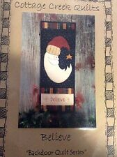 """BELIEVE-""""BACKDOOR QUILT SERIES"""" #CCQ144 BY COTTAGE CREEK QUILTS"""