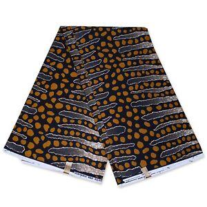 "African fabric BLACK wax fabric ""MUD CLOTH BOGOLAN"" Ankara Kitenge wax print"