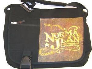 Norma Jean EMO Punk Rock Band Snake Messenger Shoulder Laptop Bag VTG Hot Topic