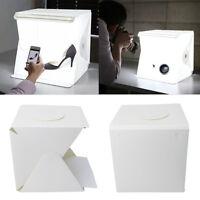"""12"""" Light Room Photography Lighting Photo Studio Tent Kit Mini Backdrop Cube Box"""