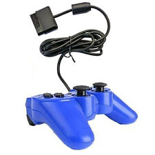 New Wired Video Game Controller for Sony Playstation2 PS2 Gamepad Blue by BAB