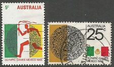 Olympics Used Australian Stamps