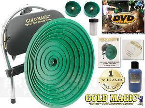 Gold Magic 12 E Automatic Pan Panning Machine Spiral Wheel + BONUS ITEMS