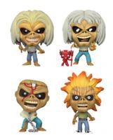 Iron Maiden Eddie (4-Pack) (Glow in the Dark) Vinyl Art Toys Brand: Funko Series