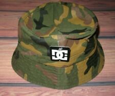 MENS DC SHOES CAMOUFLAGE BUCKET HAT SIZE S/M