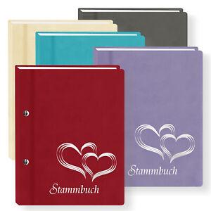 """Stammbuch der Familie """"Glamour"""" Stammbücher A5 A4 Hochzeit Familienstammbuch"""