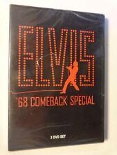 ELVIS PRESLEY  -  ELVIS '68 COMEBACK SPECIAL  -  3 DVD  2008  NUOVO E SIGILLATO