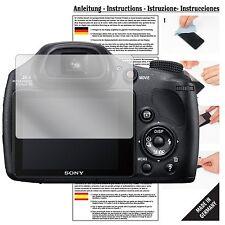 6x Pellicola protettiva per Sony dsc-hx350b Bridge-videocamera Pellicola Proteggi Schermo Chiaro