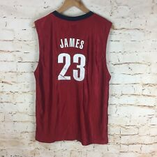 NBA Jersey Cleveland Cavaliers #23 Lebron James SZ XL Youth Età 18/20