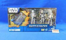 Defend Kamino Star Wars The Clone Wars Battle Packs 2011 Hasbro Sealed