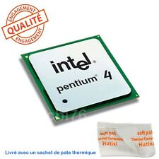 Processeur Pentium 4 Intel 2,8 Ghz Socket 478 SL6PF 2,8GHZ/512/533Mhz R2B