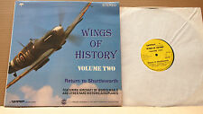 WINGS OF HISTORY VOL. 2 RETURN TO SHUTTLEWORTH AIRCRAFT OF WW II & OTHER AEROPLA