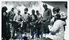 Dr. Thomas Hornbein Pioneering Mount Everest SIGNED 4x6 PHOTO AUTOGRAPHED