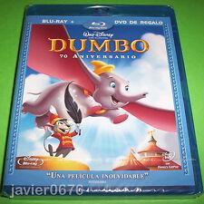 DUMBO BLU-RAY + DVD NUEVO PRECINTADO CLÁSICO DISNEY 4 EDICIÓN 70 ANIVERSARIO