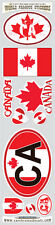 Canada 10 stickers set Canadian flag decals bumper stiker car auto bike laptop