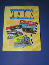 GREENBERG'S GUIDE TO MARX TRAIN CATALOGUES