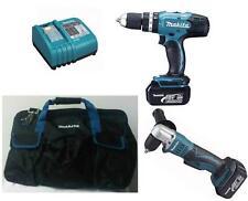 Makita 18v DDA351Z Angle Drill/Driver + DHP453Z Combi Drill + Makita Bag