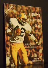 12th Annual Bishop's Charities Game Official Program September 2 1972